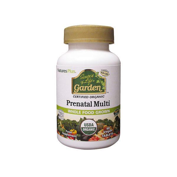 Source of Life Garden Organic Prenatal Multi (90 caps)