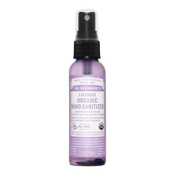 Lavender Organic Hand Sanitiser (60ml)