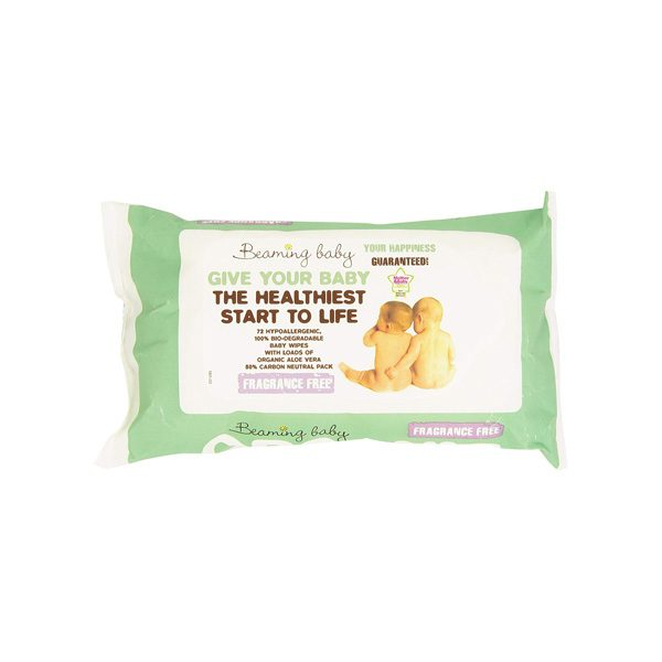 Certified Organic Skincare Baby Wipes (72 pcs)