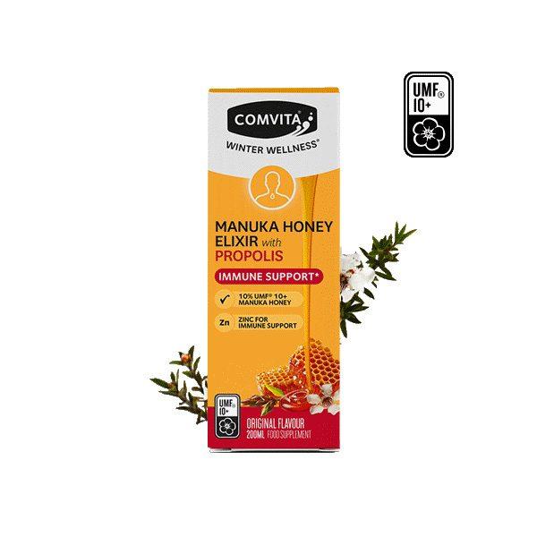 Manuka Honey Elixir with Propolis (200ml)