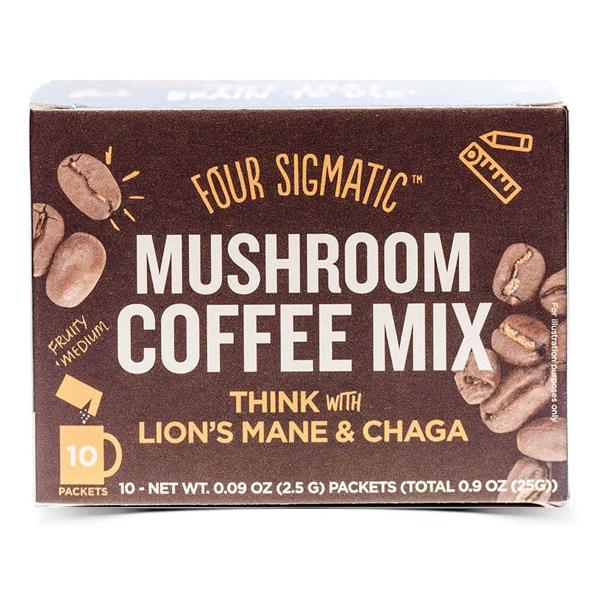 FSF Mushroom Coffee Lion's Mane & Chaga (10 sachets)