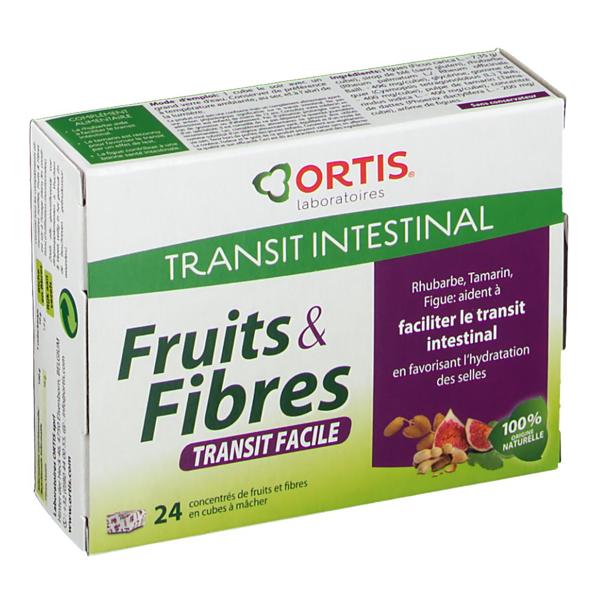 Fruits & Fibers Cubes (24cubes)