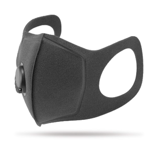 1 x Reusable Anti PM2.5 activated carbon mask (Grey)