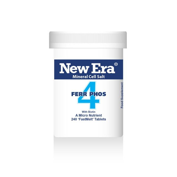 No.4 Ferr Phos (240 tabs)
