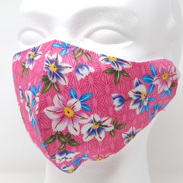 Big Pretty Flowers Reusable Face Mask (1 pcs)