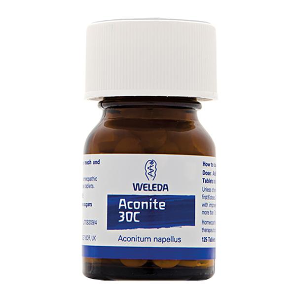 Aconite 30C (125 tabs)