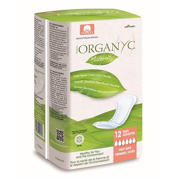 100% Organic Maternity Pads (12pcs)