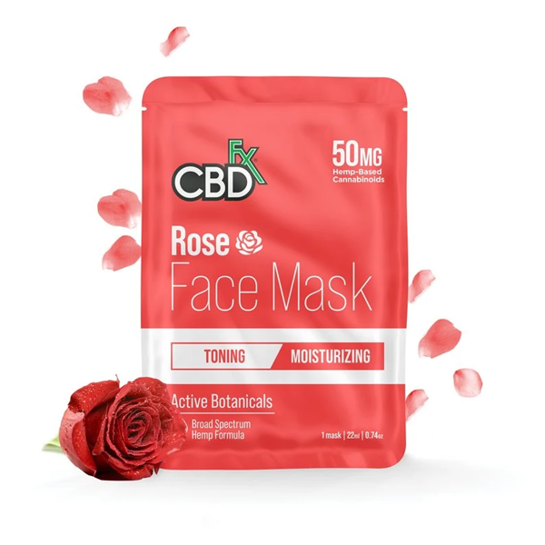CBD Face Mask – Rose (50mg)